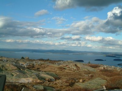 Nearby Cadillac Mountain