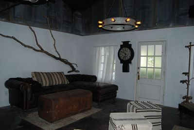 part of living room area