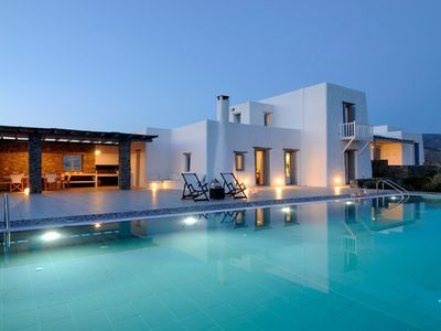 Photo for Luxury Villa in Paros 8 Beds 8 Baths 17 Guests
