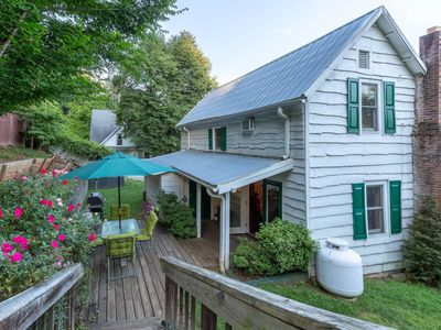 Photo for Downtown, dog-friendly, Dillsboro home w/ fireplace - front porch & back deck!