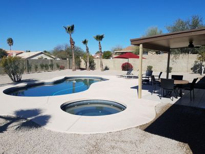 Photo for North Scottsdale, Keirland area 3 bedrooms/2 baths, private Pool & Spa