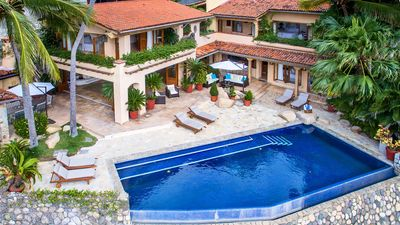 Photo for BEST REVIEWS! BEACH FRONT VILLA W PRIVATE POOL, PRIVATE STAFF, PERFECT LOCATION