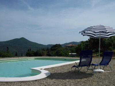Photo for Rustico, countryside, 1.6 hectometer large property, w/olive trees & vineyard