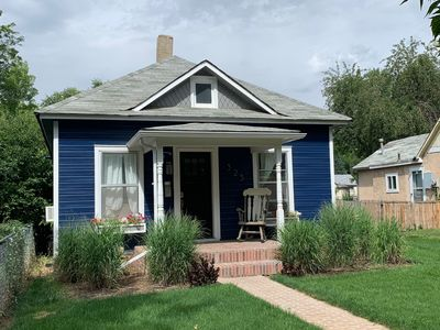 Photo for The Cottage! Chic Bungalow near Old Town Square!