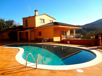 Photo for Catalunya Casas: Glorious 5-bedroom villa for 10 people nestled in the hills of Arbucies