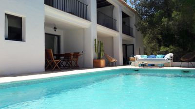Photo for Character house, beautiful sea view, Na Xamena, Ibiza