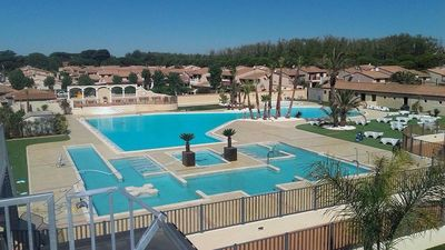 Photo for Portiragnes Beach - Portes du Soleil A1 - Superb 3 bedroom corner house