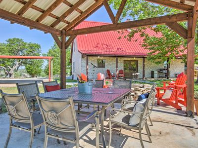 Photo for Hill Country House w/Outdoor Perks & Hot Tub!