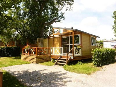 Photo for Camping Pommiers Des 3 Pays **** - Chalet Tonga 3 Rooms 4 Persons