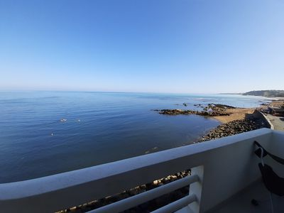 Photo for Exceptional view !!!! 1st line sea gd T4 of 110m ² in residence of standing