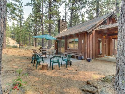 Photo for Cozy & secluded Sunriver cabin w/SHARC access! Surrounded by beauty & nature