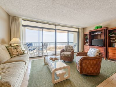 Photo for Waterfront condo w/ shared indoor pool, hot tub, game room, & fitness room!