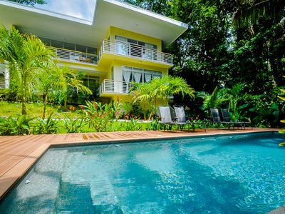 Perfect Pool - Landscaping makes you feel immersed in the jungle and wildlife!