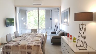 Photo for Apartment Standing 8 people Loggia Wifi Air Conditioning Marina View