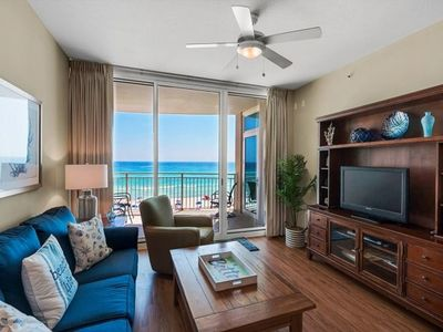 Photo for Perfect 3rd Floor 2BR Unit, Gulf-Front Master + bonus Bunk Room