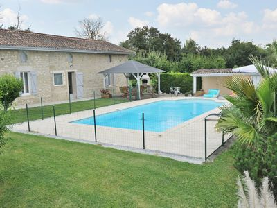 Photo for Fully restored stone farmhouse with private pool