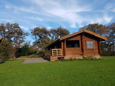 Photo for Authentic timber lodge located in heart of Devon at the edge of Dartmoor