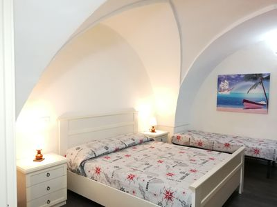 Photo for Spacious and cozy apartment in the center of Gallipoli and 200 m from the sea.