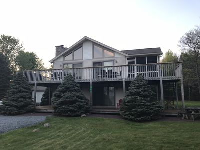 Photo for ADVENTURE AWAITS!  Newly Remodeled! Sleeps 16, Large Deck, Hot Tub, & Game Room