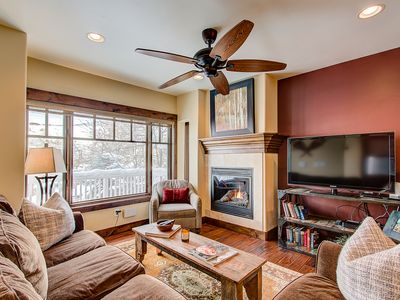 Photo for Beautifully Finished Home with Bunk Room & Private Hot Tub - Close to Lifts and Main Street