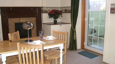 Dining room, spacious and quick access to garden