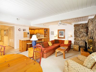 Photo for Ski-in/Ski-out  to Fanny Hill, Stonebridge 2 Bedroom with Den and 3 Bath Condominium
