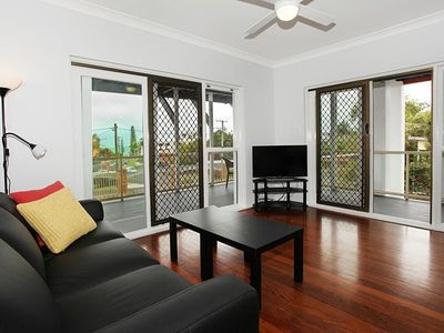 Photo for 26 on Mayfield; Newly Refurbished apartment, walking distance to the beach plus ocean views!