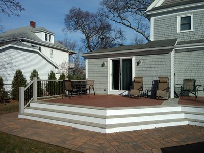 Your back deck!