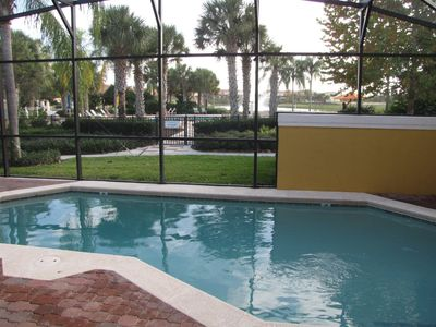 Photo for Gorgeous Resort Accommodations,Near Disney 4 Bed W/ Private Po