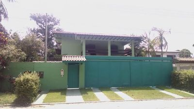 Photo for Comfortable house with four suites with pool and leisure area, 200 meters from the beach