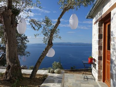 Photo for Character house in a very quiet environment, 10 minutes from the beaches ...