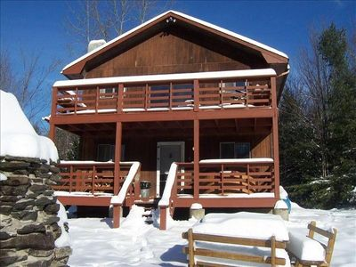 Photo for Outdoor Hot Tub, Fire Place, Wood Stove, Pool Table
