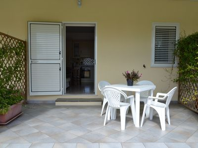 Photo for Le mimosas - Apartment 3 500 meters from the sea