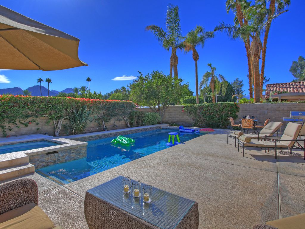 Indian Wells Pool Home Best Compliment We H Vrbo