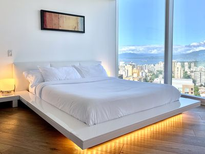 Photo for Luxury 2Bedroom Downtown Vancouver Condo - Mountain, Water, and City View
