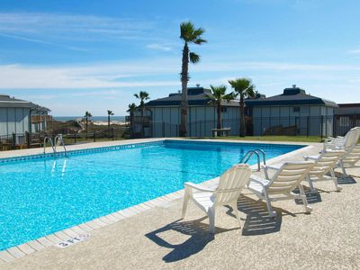 Photo for 2 bedroom, 2 bath condo, great view, boardwalk to the beach. Heated Pool!
