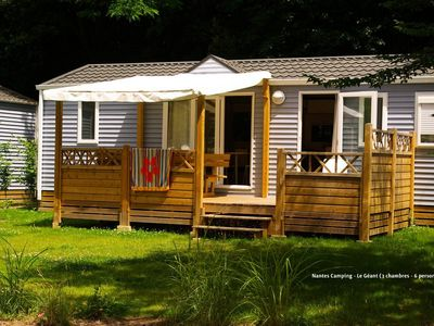 Photo for Nantes Camping ***** - Cottage Giant 4 Rooms 6 People