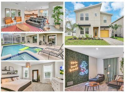 Photo for NEW Listing MickeyVACAY! 6BR/5BA w/pool & water park- ChampionsGate (8935CC)