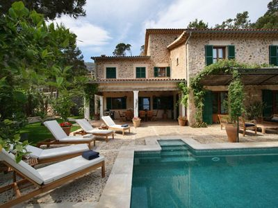 Photo for 4 bedroom Villa, sleeps 8 in Deià with Pool, Air Con and WiFi