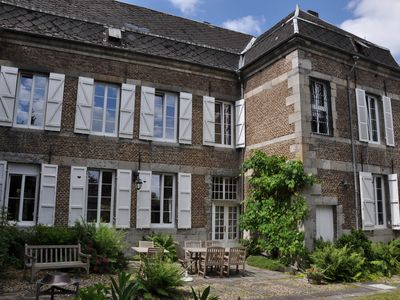 Photo for Spacious mansion of the 18th century near the Meuse with garden