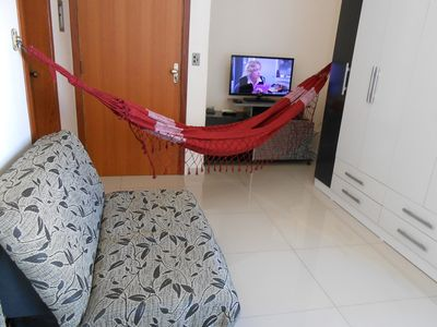 Photo for Center, near Santa Casa and UFRGS. With split, internet, elevator, Port 24h