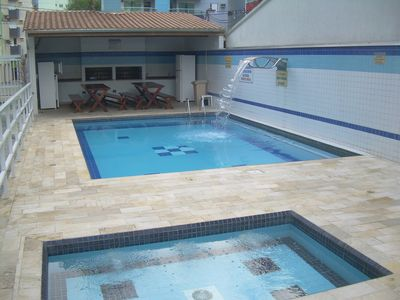 Photo for Otimoapto, 2DormAr-Cond, 2wc, Wifi, Sky, Pools, VaranC / Churras, Sauna, F: 11-971408566
