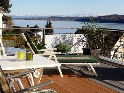 Photo for EC Apartment with fantastic sea - and Alpenblick
