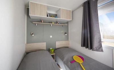 Photo for Camping Les Peupliers **** - Air-conditioned Family mobile home 4 rooms 6 people