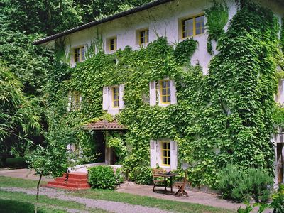 Photo for Comfortable vacation home near Biarritz in a former watermill with large garden