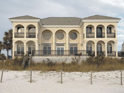 Photo for Summer Dates Now Available-Beachfront Mansion Palazzo de Bella Vista