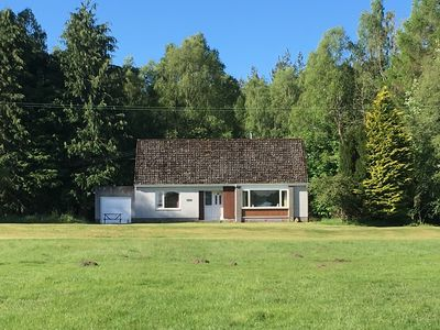 Photo for 4 Bedroomed Holiday house on stunning Highland Estate