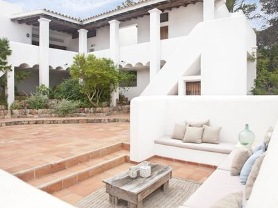 Photo for Can Far - A Spacious Villa by Cala Tarida (Ibiza)