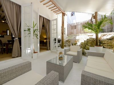 Photo for Country house 379 m from the center of Playa del Carmen with Pool, Air conditioning, Parking, Terrace (704739)