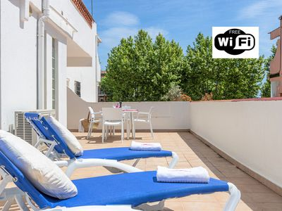Photo for Apart-Rent-SANT MORI Apartment with WIFI and large terrace (0188)